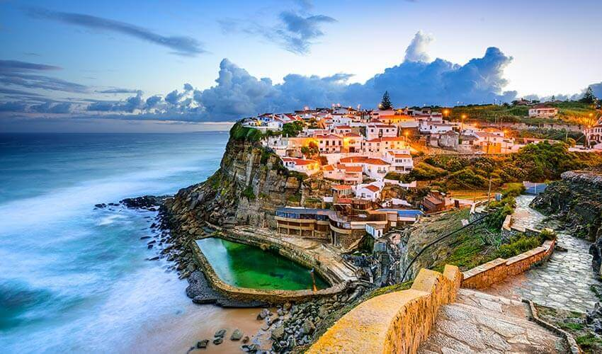 Azenhas do Mar Seaside Town