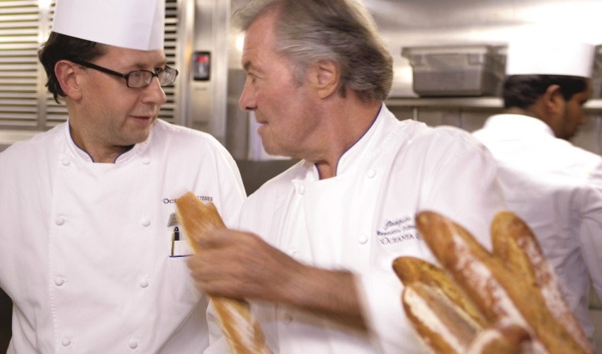 Executive Culinary Director is Master Chef Jacques Pepin.